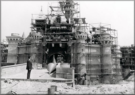 Disneyland Construction Photographs