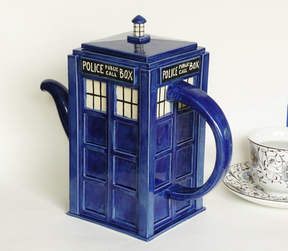 Doctor Who Tardis Household Items