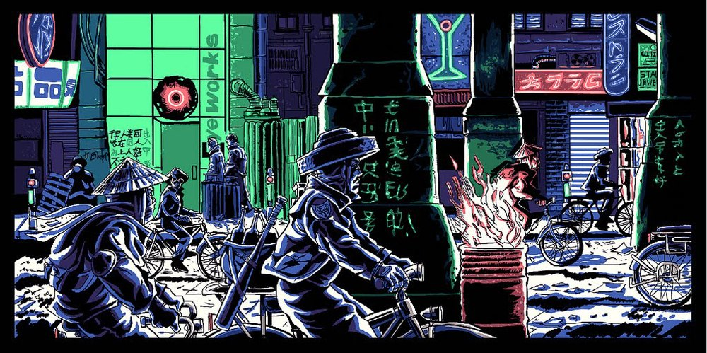 Blade Runner Illustrations