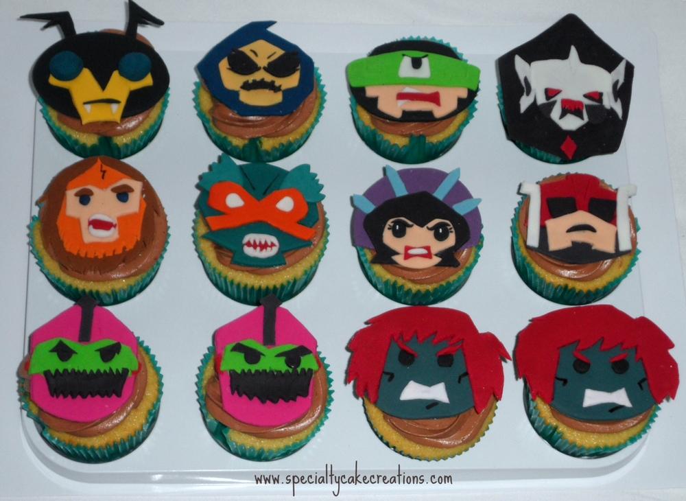 He-Man Cupcakes
