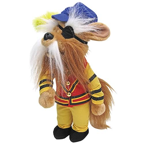 Labyrinth Movie Plush Toys, Sir Didymus, Worm & Fireys