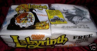 Bowie's Labyrinth Birthday Party Supplies