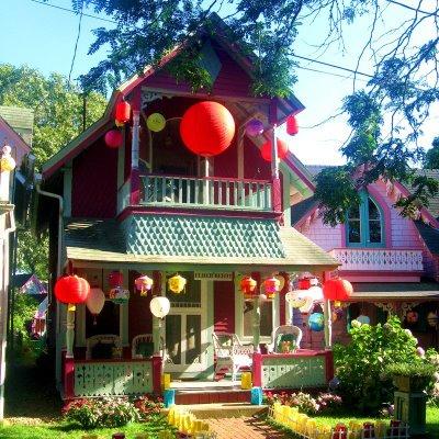 Martha's Vineyard Gingerbread Houses
