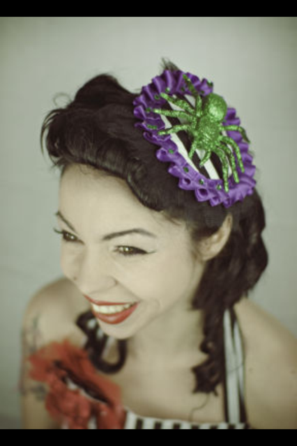 Taxidermy Fascinators - Claws, Feathers & Plastic Flowers