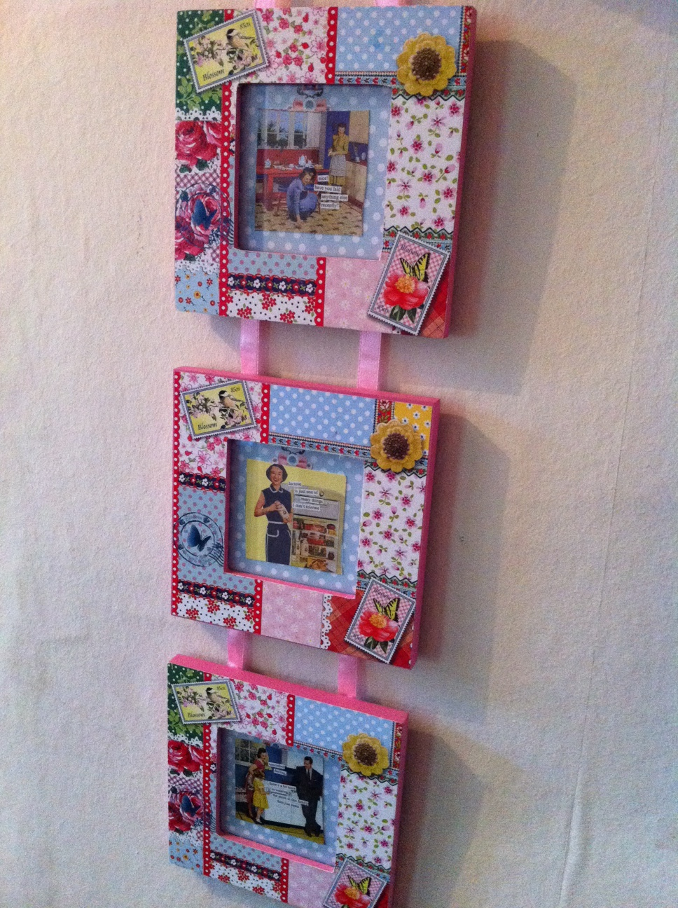 Twee Patchwork Photo Frame