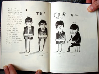 Vic Reeves' Illustrations