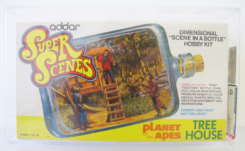 Planet of the Apes, in a Bottle