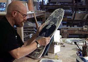 Porcelain Skateboard