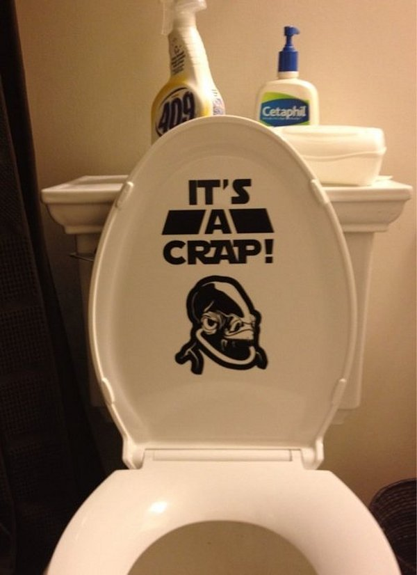 Star Wars... toilets