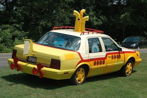 Yellow Submarine Cars