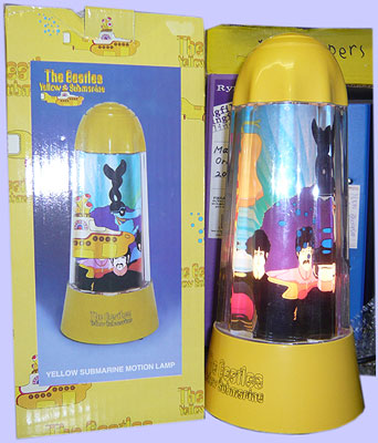 Yellow Submarine Lamps