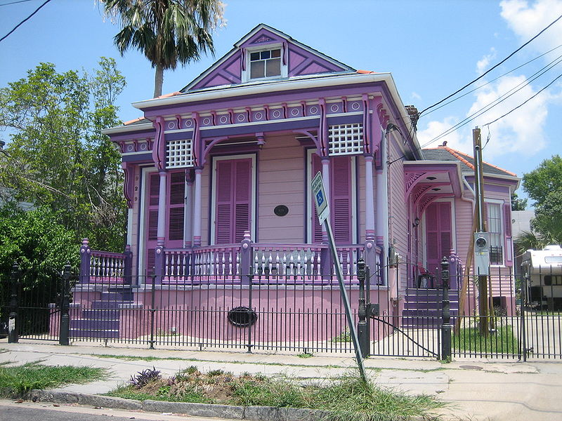 Purple Houses