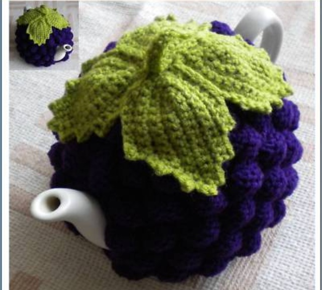 Tutti Fruity Knitted Tea Cosies