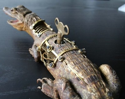 Steampunk Taxidermy by Lisa Black