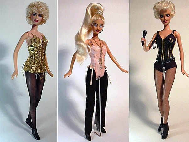 Barbie as Madonna