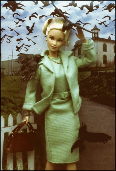 Hitchcock's The Birds Barbie