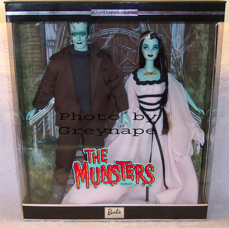 Munsters & Addams Family Barbies