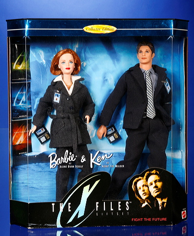 X Files Barbie