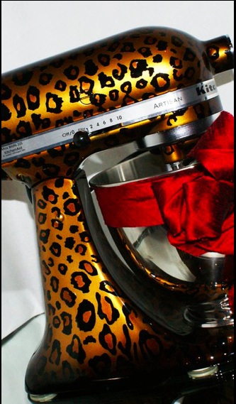 A Leopard Kitchen
