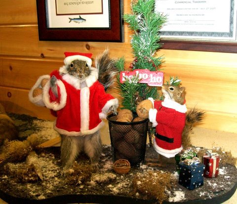 Christmas Taxidermy