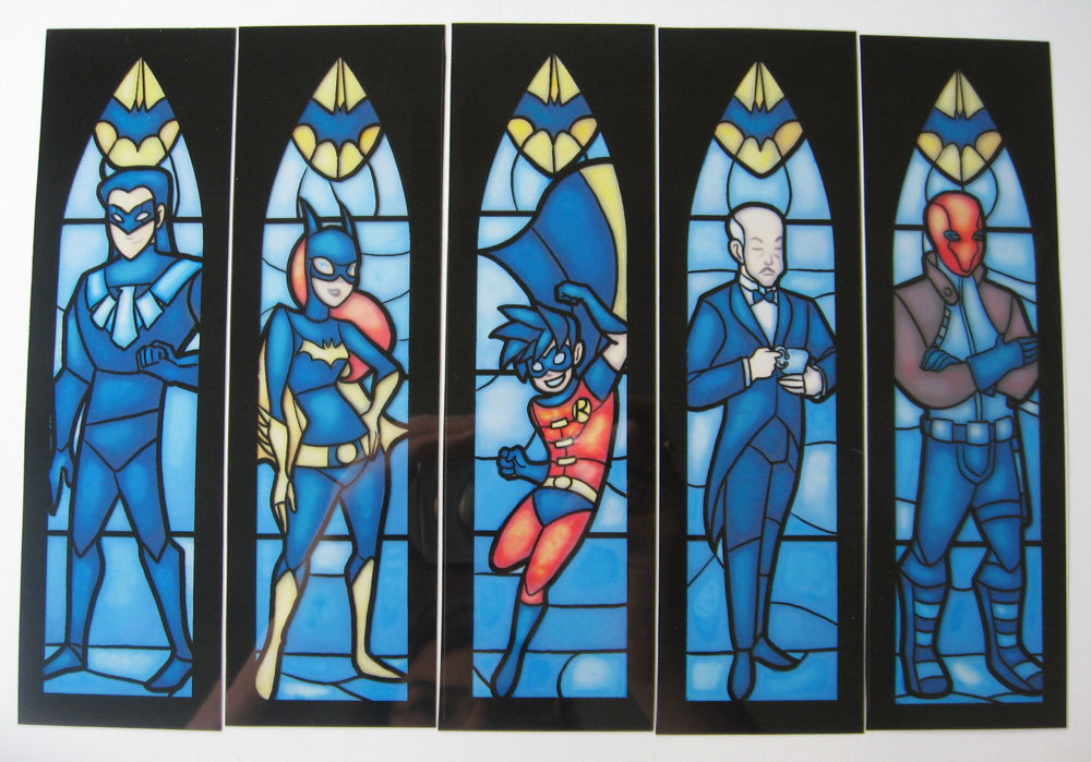 Geeky Stained Glass Window Design