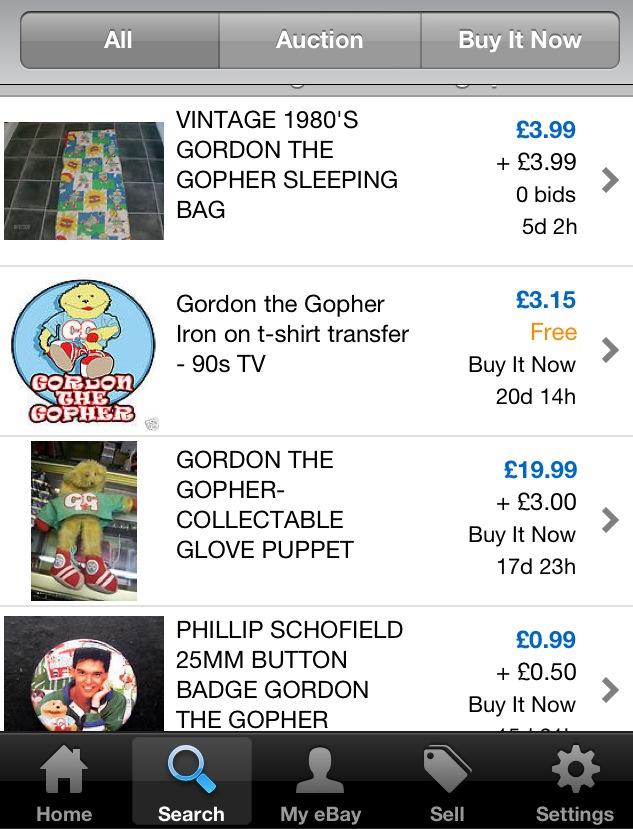 Gordon the Gopher Sleeping Bag, Backpack & More