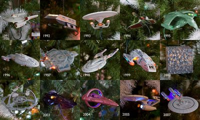 Star Trek Christmas Ornaments & Trees