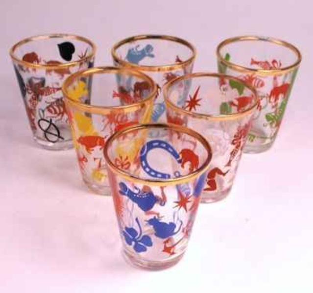 Kitsch Shot Glasses