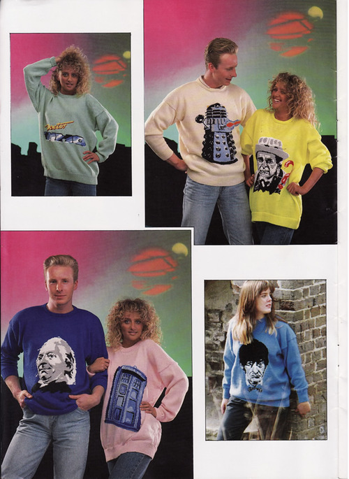 Doctor Who Christmas Jumpers