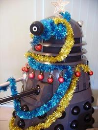 DEC-O-RATE! DEC-O-RATE! Doctor Who Dalek Christmas Tree
