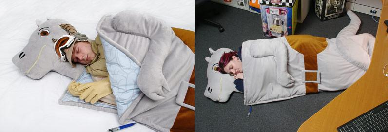 I'VE BEEN EATEN BY A BEAR! and other Crazy Sleeping Bag Designs