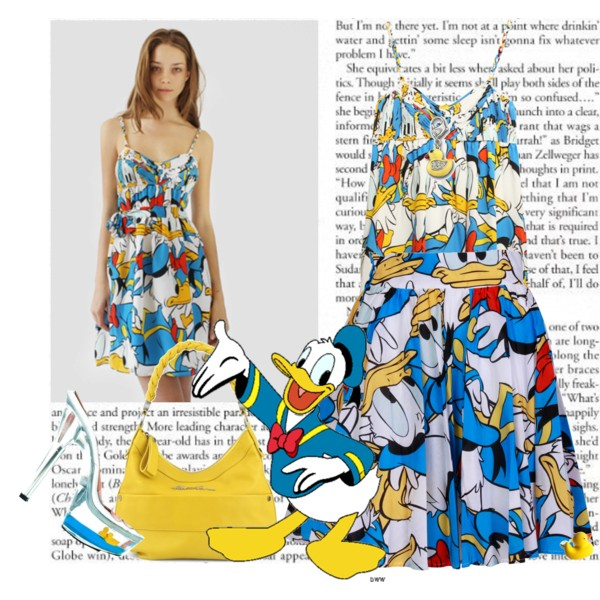 Jean Charles de Castelbajac Donald Duck Dress