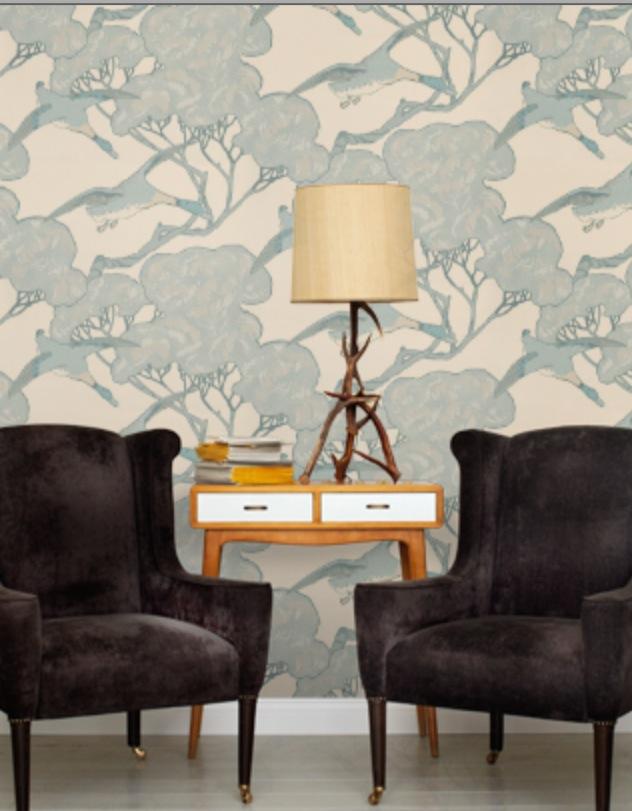 mulberry flying ducks wallpaper-#26