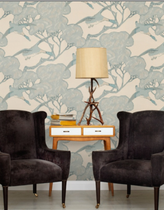 mulberry flying ducks wallpaper - photo #25