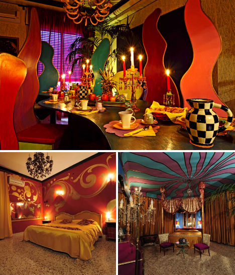 Insane quirky kitsch hotel the world of kitsch for Quirky hotels