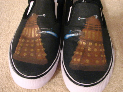 Doctor Who SHOES!