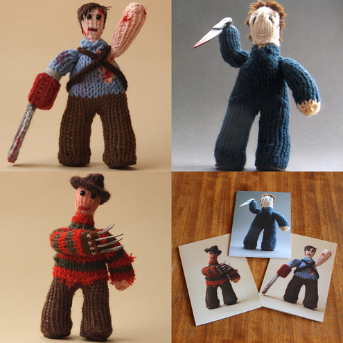 Knitted Ash from The Evil Dead 2