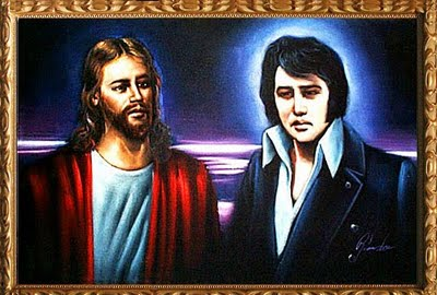 Jesus Elvis Mash-ups