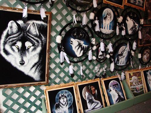 Velvet Art Wolf Extravaganza