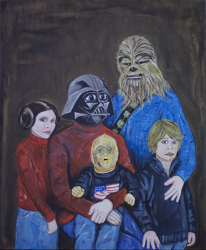 Awkward Star Wars Family Portraits
