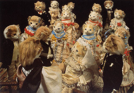 Taxidermy Cat Wedding & the Working Class Animals of Walter Potter