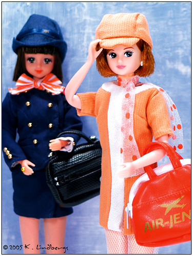 Vintage Air Hostess Dolls
