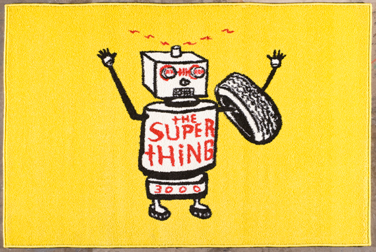 Devo Robot Rugs
