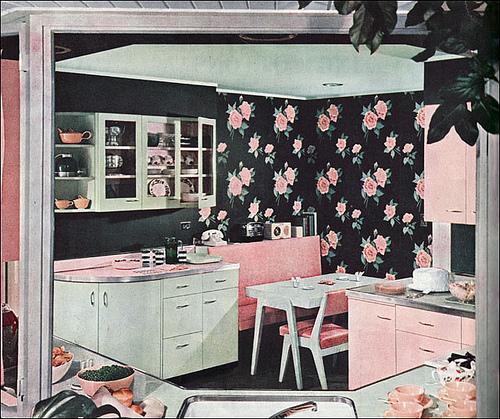 Pink Kitchens
