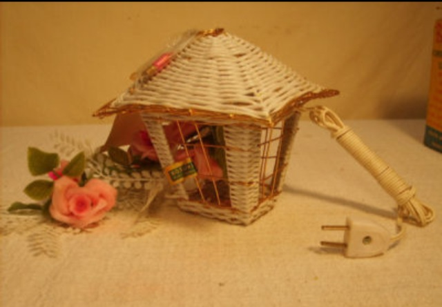 Kitsch Bird Cage Light