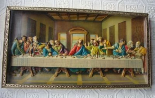 Religious Kitsch 3d Last Supper The World Of Kitsch