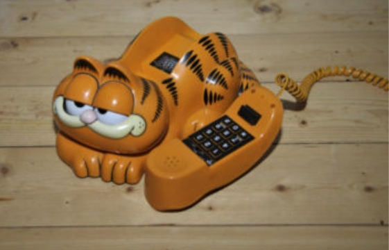 80's Garfield House Phone