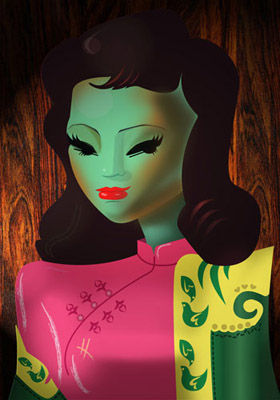 Tretchikoff Reimagined by Miss Swanne