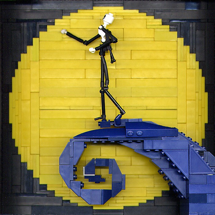 Tim Burton Films in Lego