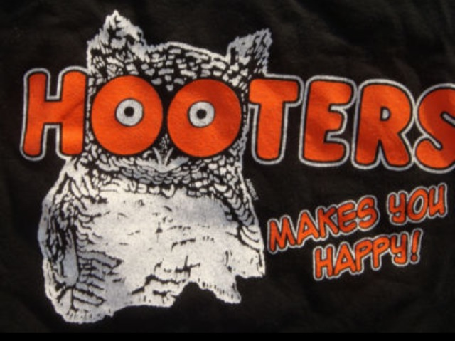 Vintage Hooters' Outfit